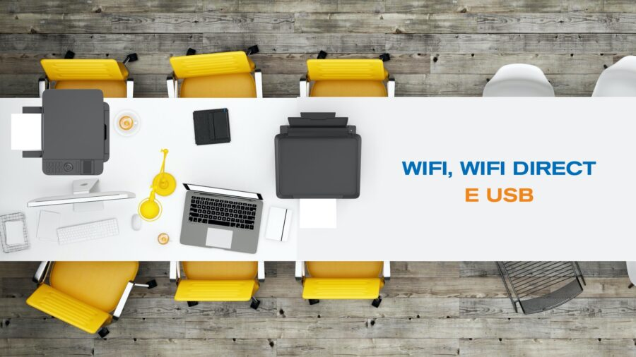 WiFi, WiFi Direct e USB