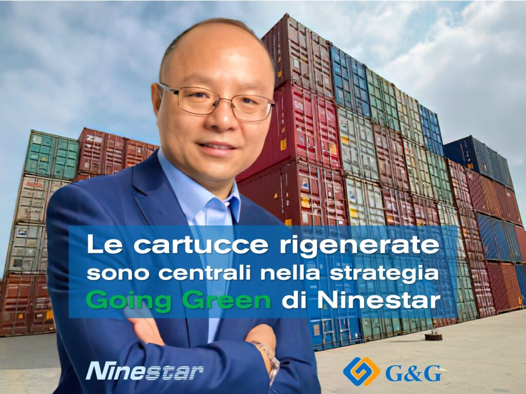 Cartucce Reman core nella strategia Going Green Ninestar - Eric Zhang